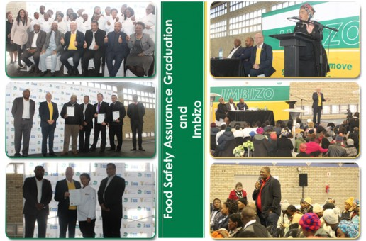 MINISTER HANEKOM CHAMPIONS FOOD SAFETY IN THE HOSPITALITY INDUSTRY