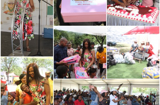 Day 2: MEC's Xmas party – Handover of Xmas presents for children with disabilities and MEC's Birthday Party